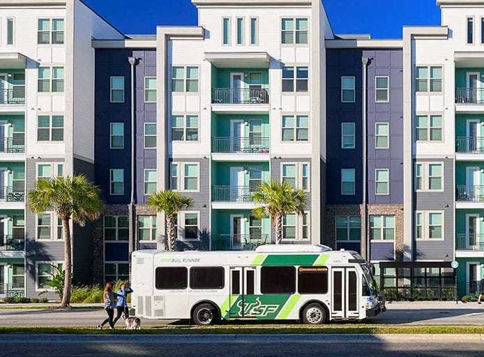Image for Close Proximity To Campus — Walk To Class Or Ride The Bus